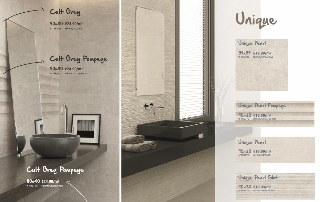 3 alternatieven voor de klassieke, witte badkamertegel