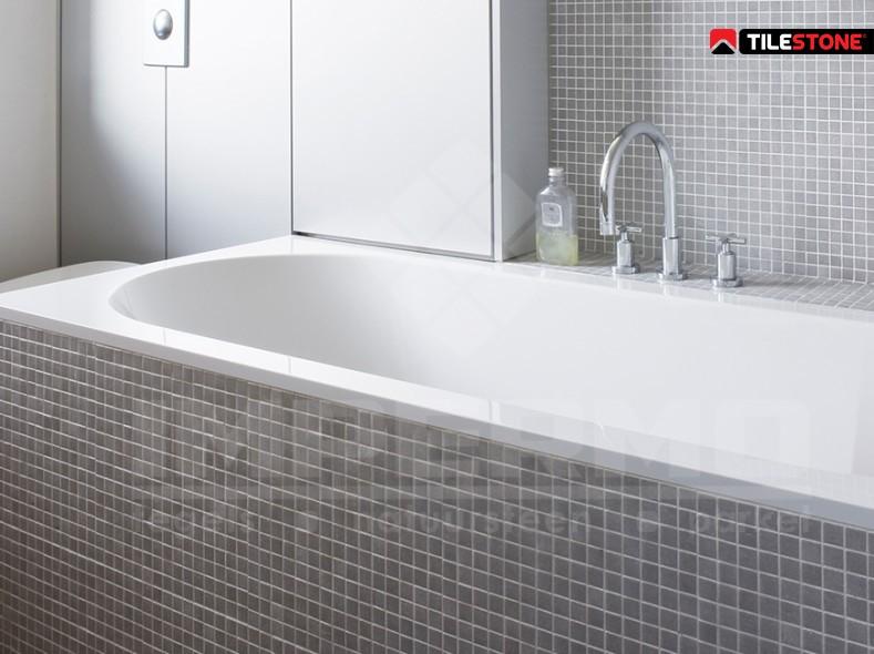 Badkamer Van Mozaiek : Beige mozaïek voor een luxueuze badkamer gilbo tegels