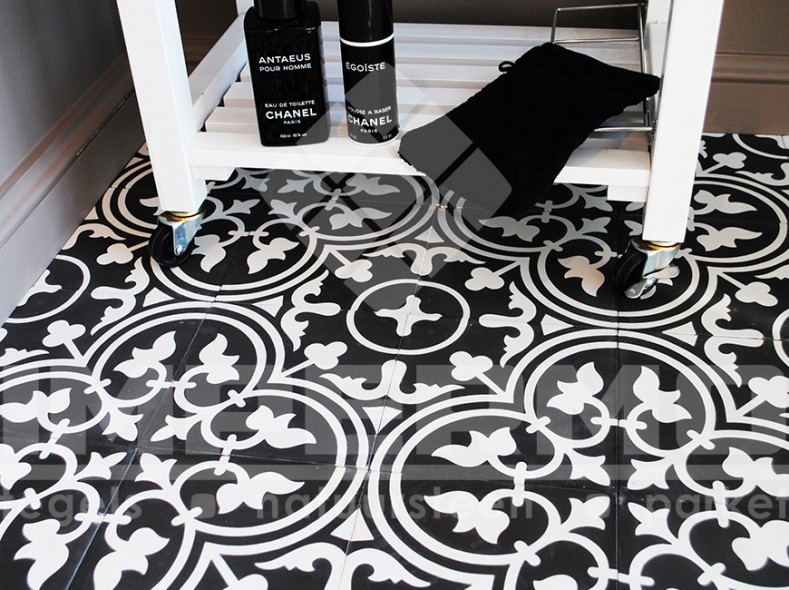 Flanders trocadero cementtegels impermo - Oude patroon tegel ...