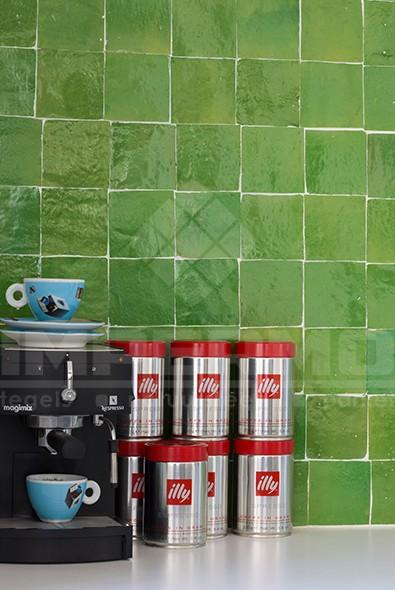 Marokkaanse Zelliges Keuken : zellige-marokkaanse-tegel-zelliges-groen-kleur-handgemaakte-impermo