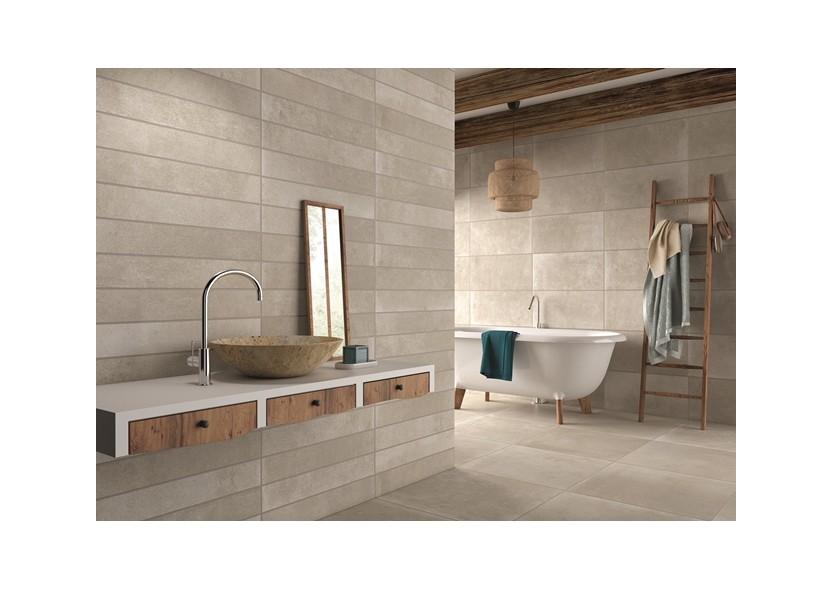 Stoneville keramische vloertegels impermo - Badkamer imitatie parket vloertegels ...