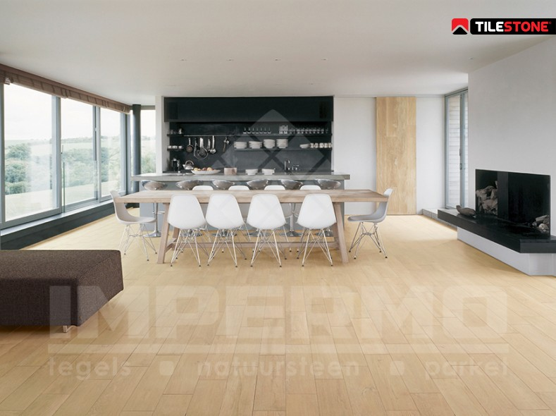 Tilestone ecowood colors keramisch parket impermo - Vinyl imitatie tegel ...